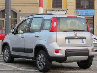 Enganches económicos para FIAT Panda 4x4