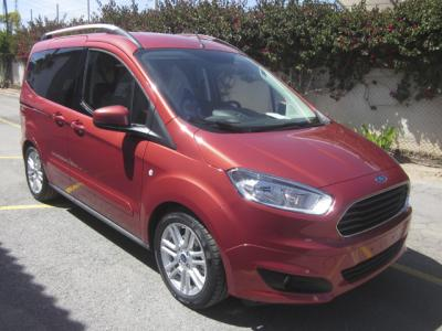 Enganches económicos para FORD Transit Courier